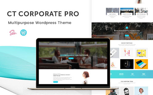 CT Corporate Pro, Best WordPress themes and plugins for 2018, WordPress themes for 2018, WordPress themes