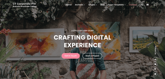 Premium WordPress themes for corporate business