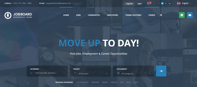 Job Board, Premium Directory WordPress themes