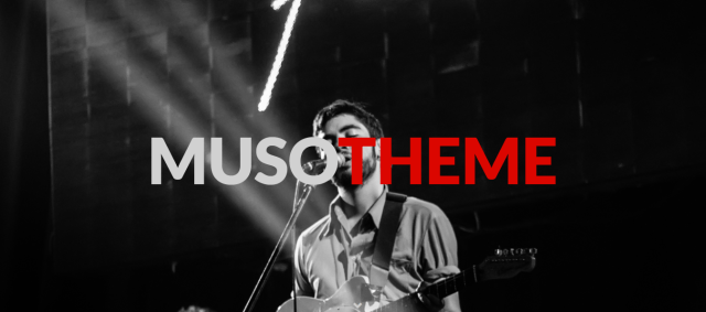 Muso, Free WordPress themes for musicians
