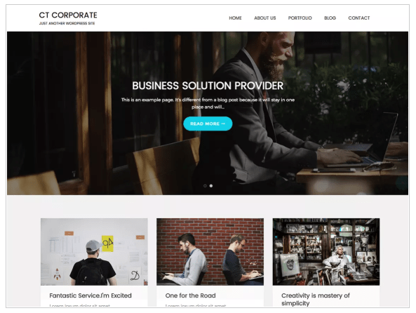 free wordpress theme for builders