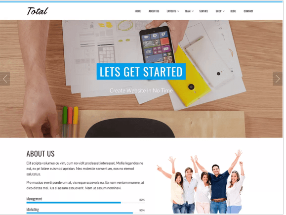 multipurpose theme