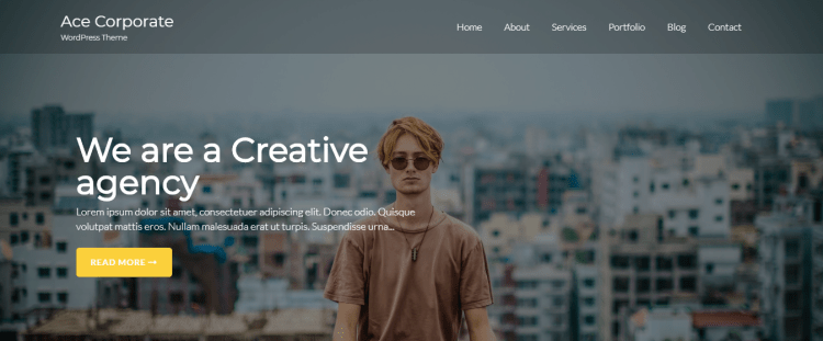 best-free-WordPress-portfolio-theme-Ace-Corporate-YudleeThemes