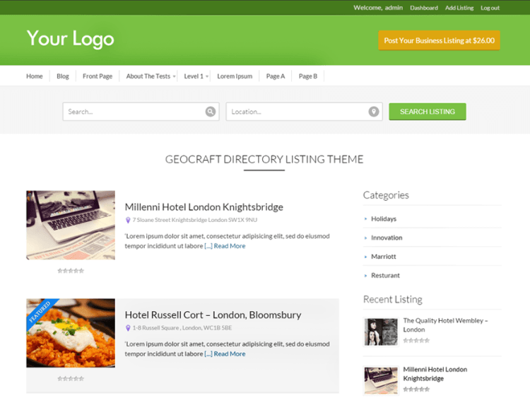 BusinessDirectory-free-WordPress-Directory-themes-for-listing-WPreviewteam