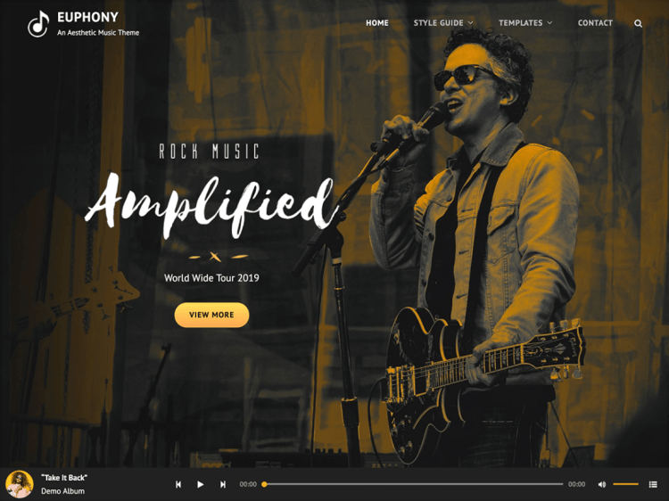 Euphony-Best-free-music-WordPress-themes-WPreviewteam