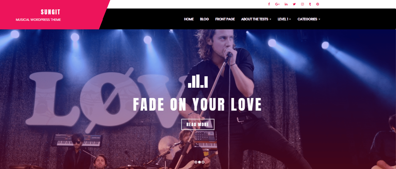 Top 30 Best Free Wordpress Themes For Musicians Updated Wp Review Team