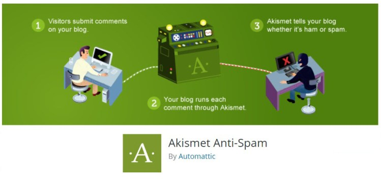 Feature image for Akismet WordPress Plugin