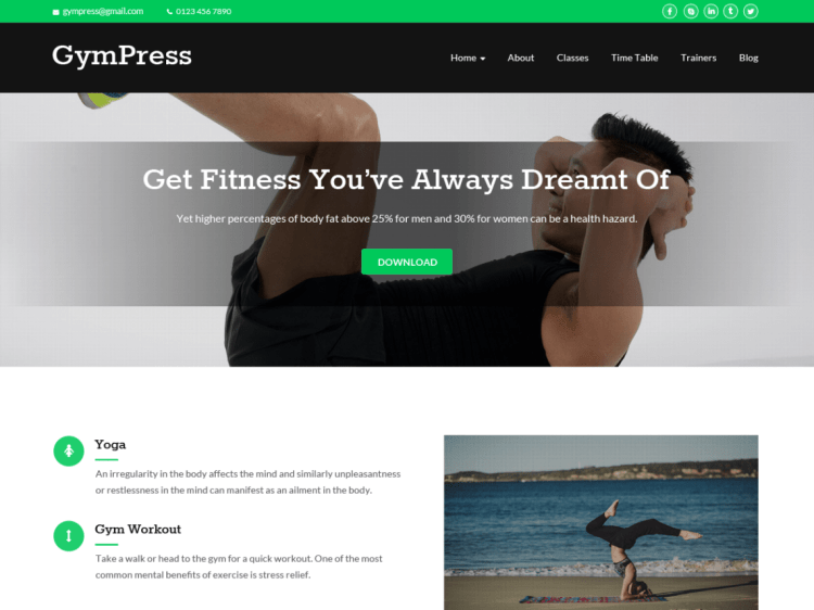 GymPress-free-responsive-fitness-WordPress-theme-WPreviewteam