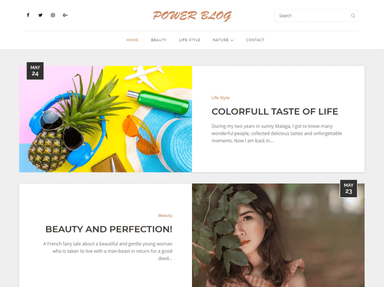 PowerBlog-free-responsive-WordPress-Blogging-themes-WPreviewteam