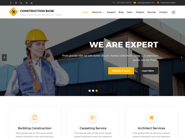 Carpenter-lite-best-free-construction-WordPress-themes-WPreviewteam
