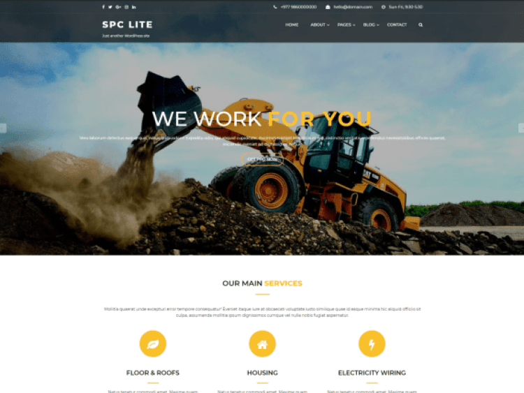 Spark-Construction-best-free-construction-WordPres-themes-WPreviewteam