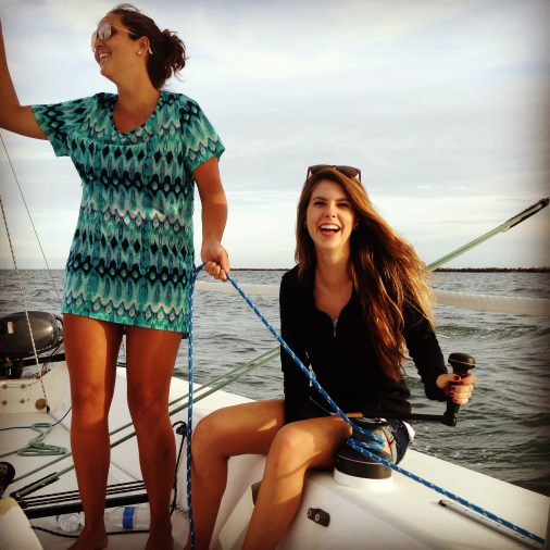 Friends Sailing
