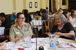 COL Amanda Fielding (ADF) & Barb O'Dwyer (WILPF)