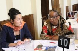 Ming Yu (Amnesty) & Jacqueline Zwambila (WILPF)