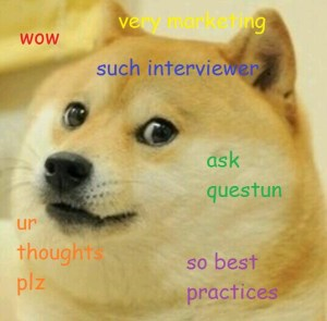 Interviewer doge