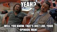 just your opinion man | wordpress app platform