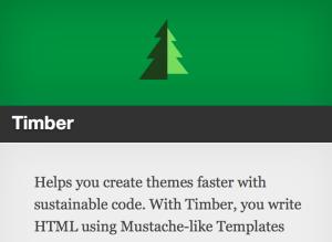 Screenshot of Timber plugin summary in WordPress.org repo