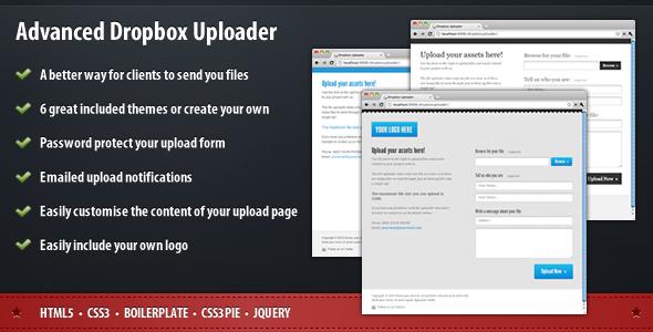 Advanced Dropbox Uploader Php Script