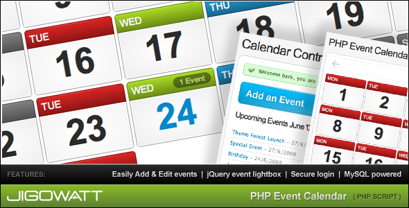 PHP-Event-Calendar