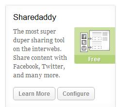 Configure-Sharedaddy