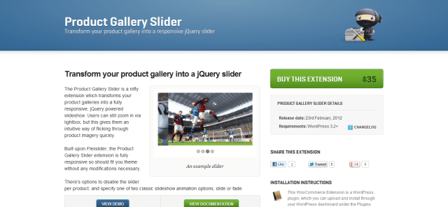 Product Gallery Slider