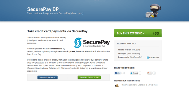 Secure Pay DP