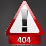 404 Page Not Found Crawl Error