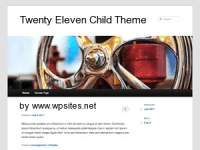 Twenty Eleven Child Themes