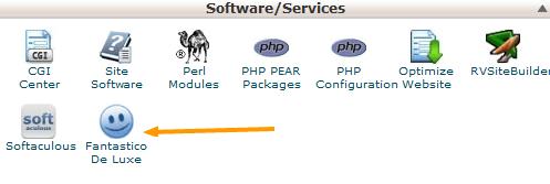 Fantastico De Luxe Software