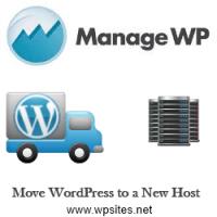 Move WordPress New Host - Manage WP