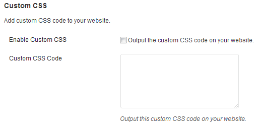Add Custom CSS to Style Your Theme
