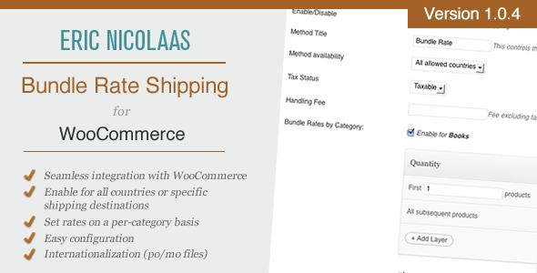 Bundled Shipping Rate Calculator