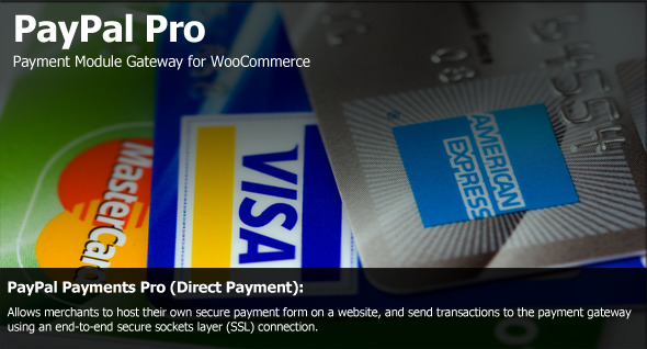 PayPal Pro Extension for Woo Commerce