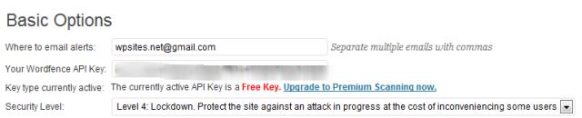 Basic Security Options