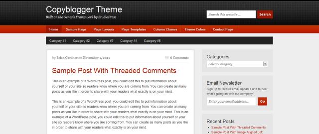 Copyblogger Theme
