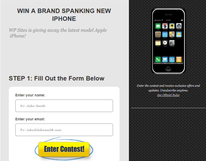 Contest Form
