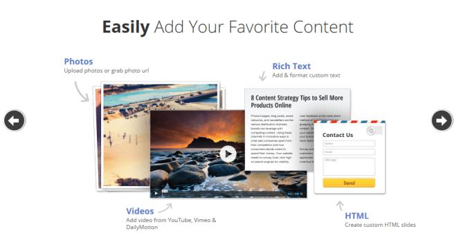Slideshow plugin for WordPress