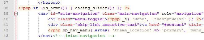 Image Slider Before Navigation