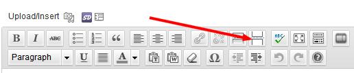 Insert Page Break Button