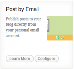 Post by Email Using Jetpack