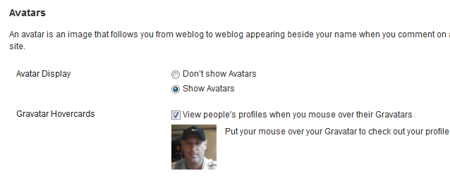 Show Avatar
