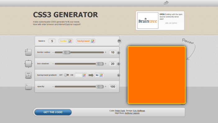 css3.me generator
