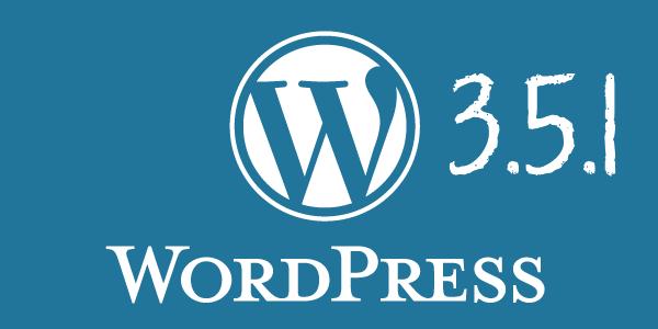 wordpress 3.5.1