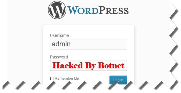 security alert for wordpress