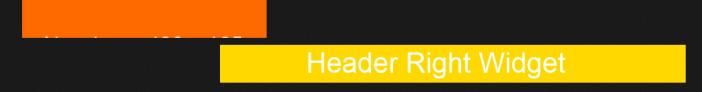 change title area width