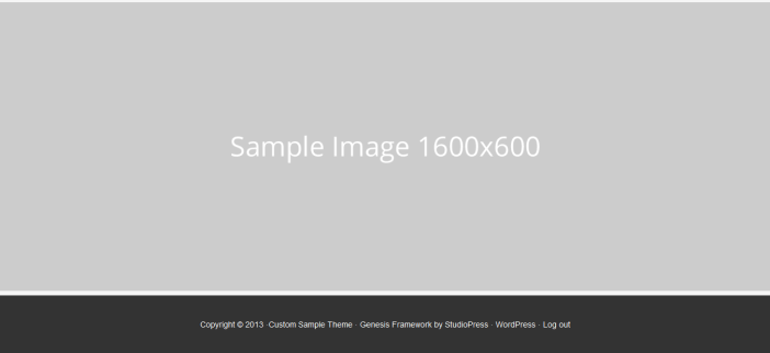full width footer image