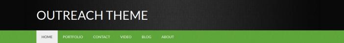 site title text