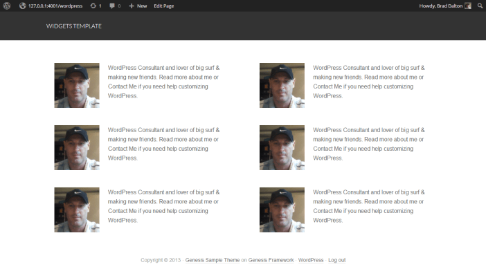 Author Archive Page