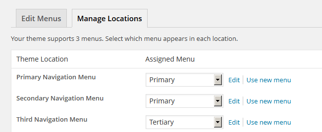 Manage Locations