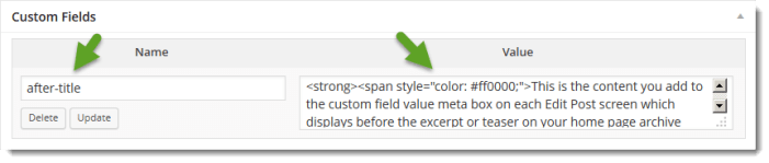 custom field meta box